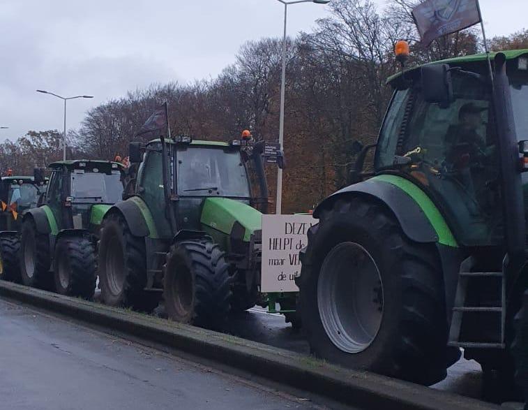 Opnieuw boerenprotest in Den Haag